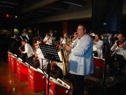 Baritone sax solo