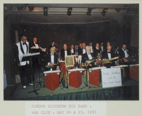 Gordon Southern at the 400 Club, 1991
