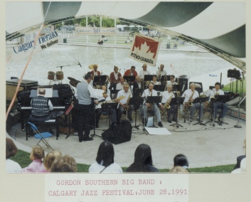 Gordon Southern's Big Band, Calgary Jazz Festival, 1991